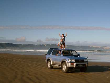 Sat, 27 Jan 2007: Far North, Driving up Ninety Mile Beach