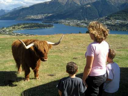 Sun, 25 Mar 2007: New Zealand Campervan, Queenstown, Deer Park Heights