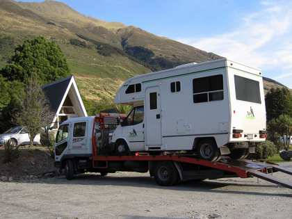 Thu, 22 Mar 2007: New Zealand Campervan, Wanaka