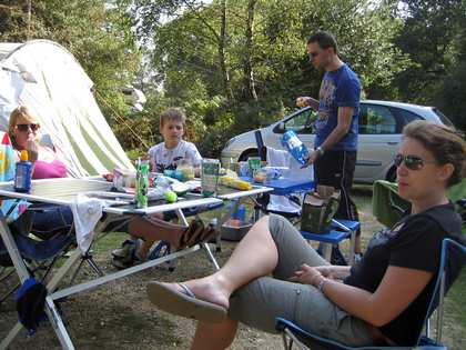 Sat, 30 Aug 2008: Autumn, New Forest Camping