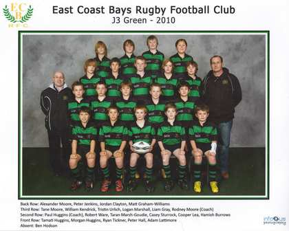 24 Apr - 25 Sep 2010: East Coast Bays Rugby Club