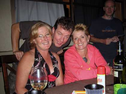 Sat, 10 Mar 2007: Home in New Zealand, Party